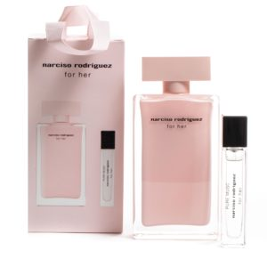Narciso Rodriguez For Her edp 100ml  & Pure Musc For Her edp 10ml